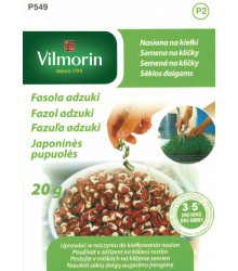 Fazol adzuki - Vigna angularis - prodej semen - 20 g