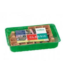 Miniskleník Classic Mplus - 36 x 22 x 13 cm - 1 ks + 24 rašelinových květníků
