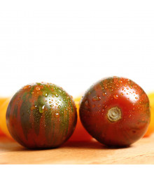 Bio semena Rajče Black Zebra - Solanum lycopersicum - prodej semen - 7 ks