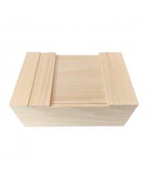 Krabička na semínka a pomůcky - dřevěná - 1 ks