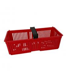 Košík na drobné ovoce - červený - 1ks