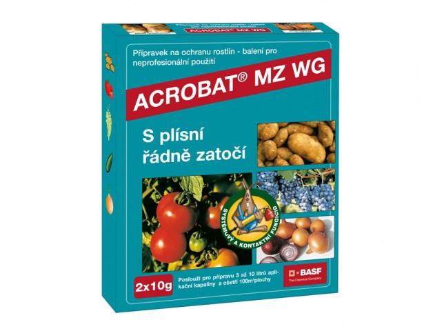Acrobat proti plísním - 2 x 10 gr - ochrana rostlin - 1 ks